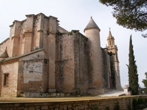 Iglesia de Santa María La Mayor en el Cerro de San Cristóbal, Estepa