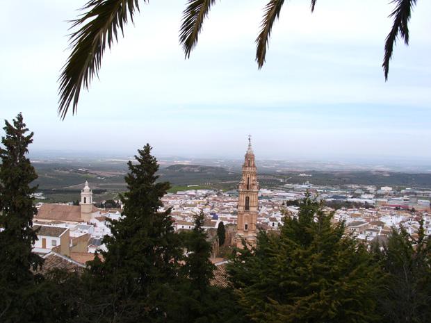 Balcón de Andalucía, Cerro de San Cristóbal, Estepa