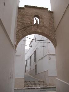 Virgen en el arco de la Calle Libertad, Estepa