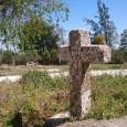 Situada desde hace siglos en el Paseo de Roya, esta cruz se sitúa en la entrada del camino que procedía de Sevilla.