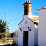 Ermita de San Isidro Labrador en La Salada, a 4 Km de Estepa