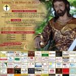 Cartel de la Romería de Estepa en honor a San José Obrero