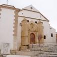 La iglesia de San Sebastián de Estepa se comienza a citar en 1498. Tiene planta basilical y fue construida en el siglo XVI según planos del arquitecto genovés Vicente Boyo.