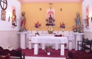 Interior de la Ermita de San Marcos en Estepa