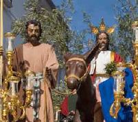 La Borriquita de Estepa, Domingo de Ramos