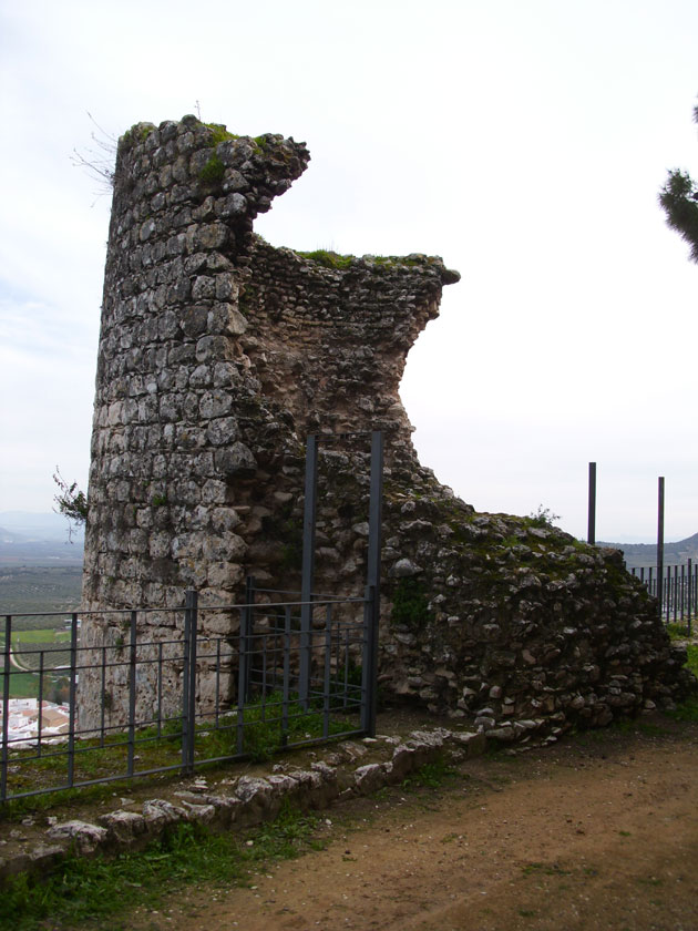 Restos de la muralla del Antiguo Alcázar de Estepa (Sevilla)