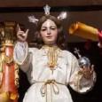 El Miércoles Santo en Estepa procesionan la hermandad del Dulce Nombre de Jesús (el Niño Perdido), Nuestra Señora de la Paz y la Hermandad del Calvario.