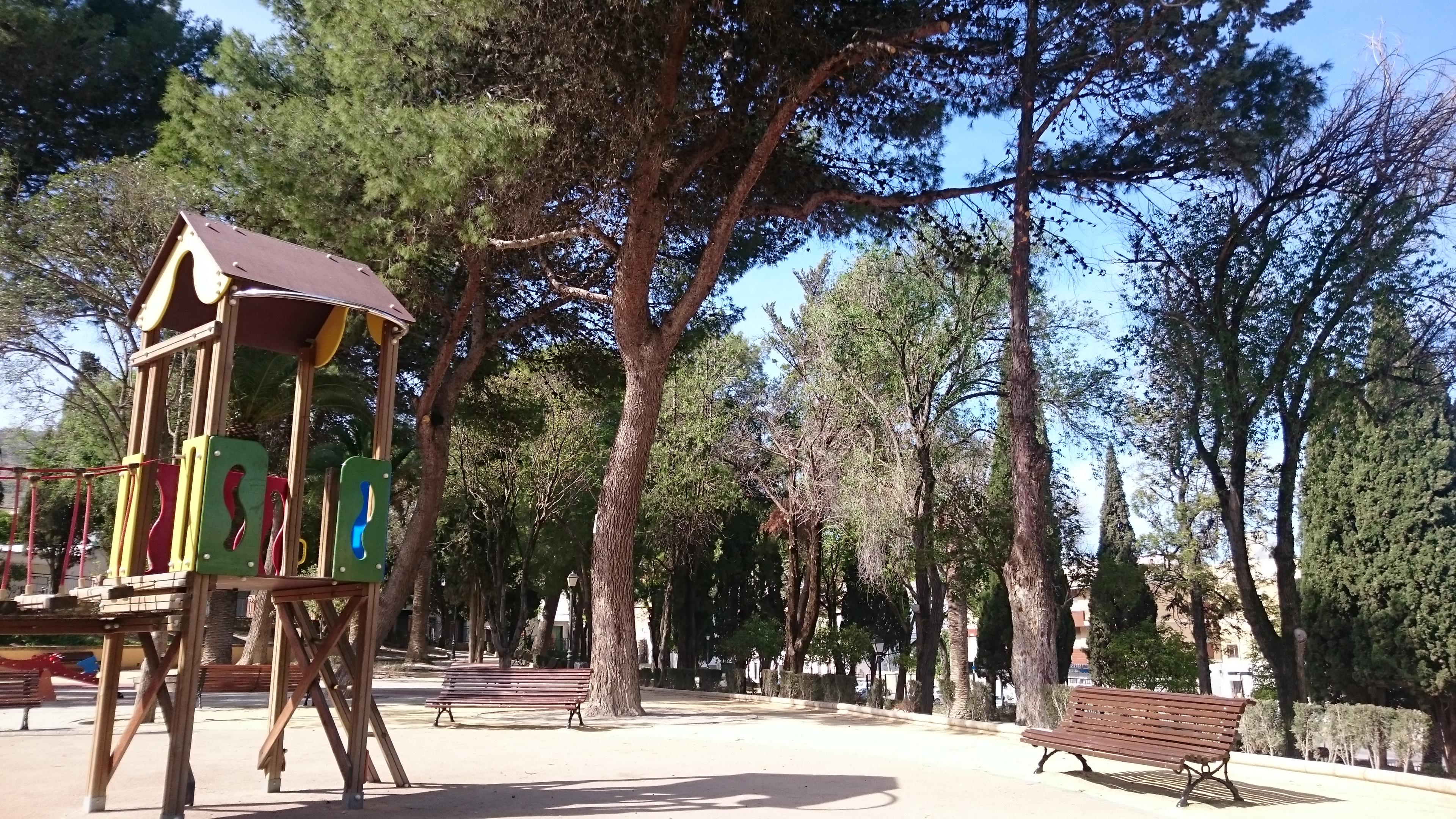 Parque Municipal Príncipe de Asturias en Estepa
