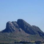 Peña de los enamorados en Antequera, a 58 Km de Estepa
