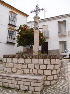 Cruz de Piedra en la Plaza Vieja de Estepa