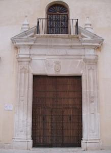 Portada de la Iglesia de Nuestra Señora de los Remedios en Estepa