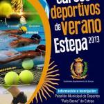 Cursos deportivos para el verano 2013 en Estepa