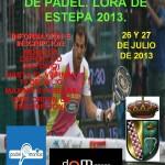 Campeonato Local de Pádel en Lora de Estepa