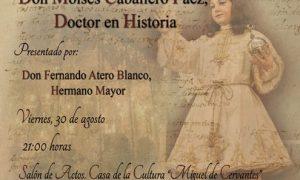 """Presentación en Estepa del libro de Moisés Caballero, """"Dulce Nombre"""""""