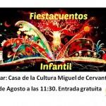 Fiesta Cuentacuentos en la Casa de la Cultura de Estepa