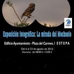 """Exposición fotográfica """"La mirada del mochuelo"""" en Estepa"""