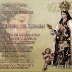 Esta tarde procesiona la Virgen del Carmen por las calles de Estepa