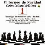 VI Torneo de Ajedrez de Navidad en Estepa