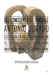 Exposición de esculturas de Antonio Jurado en Estepa