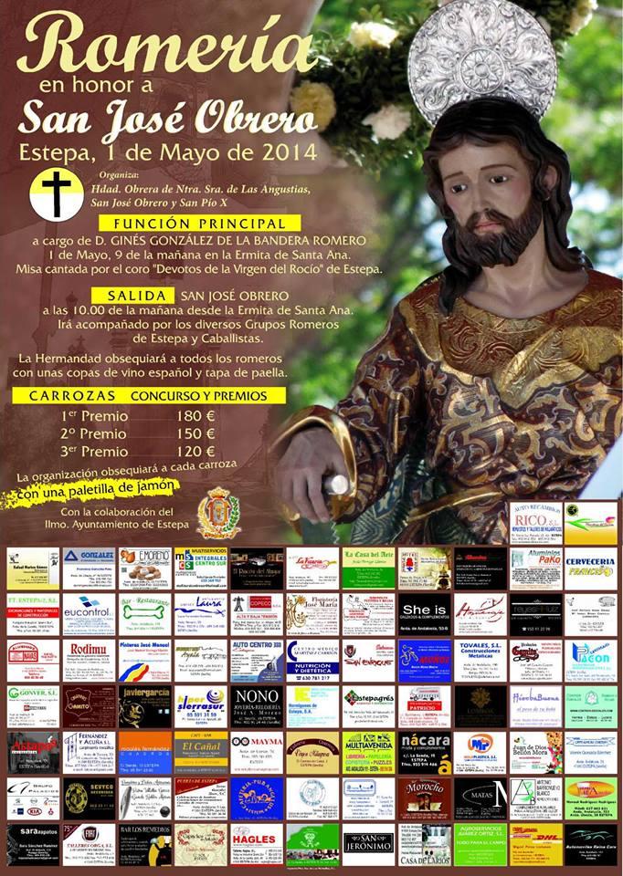 Romería en honor a San José Obrero en Estepa 2014