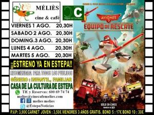 """""""Aviones 2"""", cine en la Casa de la Cultura"""