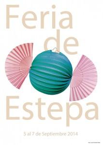 Cartel de la Feria de Estepa 2014