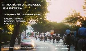 Este domingo, III Marcha a Caballo en Estepa