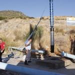 Instalada la nueva bomba de agua que abastecerá a Estepa