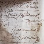La firma de Cervantes estará expuesta en la biblioteca de Estepa