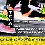 Carrera Popular Contra la Droga en Estepa 2014 (Edición XVII)