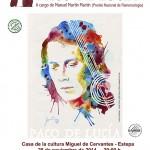 Conferencia-debate en Estepa sobre Paco de Lucía