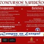 Concurso Navideño de Escaparates y Belenes en Estepa edición 2014