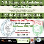 VII Torneo de Andalucía de Fútbol Mesa en Estepa