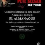 Concierto homenaje a Pete Seeger en Estepa