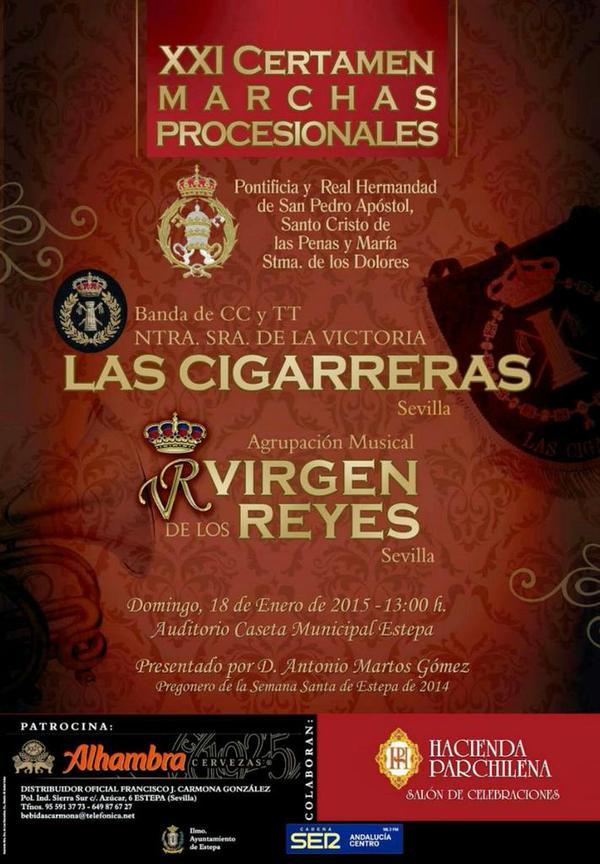 certamen-bandas-estepa-cigarreras-virgen-de-los-reyes-sevilla-cornetas-tambores-semana-santa-Andalucía