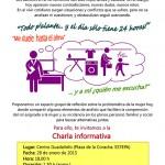 Charla informativa en Estepa: La problemática de la mujer hoy