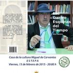 """Presentación en Estepa del libro """"Las cuatro esquinas del tiempo"""" de Paco Mateos"""