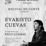Flamenco en Estepa: Recital de cante a cargo de Evaristo Cuevas y Paco Llamas