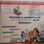 Fiesta Infantil Pirata en la Biblioteca Municipal de Estepa