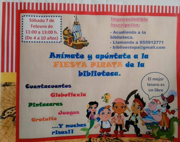Fiesta-Infantil-Pirata-Biblioteca-Municipal-Estepa-niños-febrero-2015