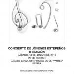 III Edición del Concierto de Jóvenes Estepeños