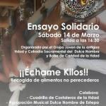 """""""¡¡Échame Kilos!!"""", ensayo solidario en Estepa"""