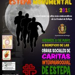 I Cross Urbano Nocturno Estepa Monumental a beneficio de Cáritas Interparroquial