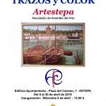 """Exposición de pinturas """"Trazos y Color"""" en Estepa"""