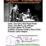 Este viernes, flamenco en la Casa de la Cultura de Estepa