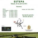 Inauguración de las nuevas pistas de pádel de Estepa