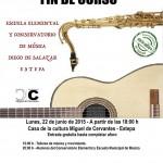 Audición Fin de Curso de la Escuela elemental y Conservatorio de Música de Estepa