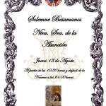 Solemne Besamanos a Nuestra Señora de la Asunción de Estepa