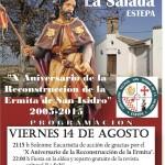 Verbena de Santiago 2015 en La Salada (Estepa)