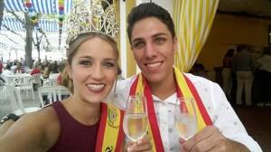 Reina y Rey de la Feria 2015 de Estepa